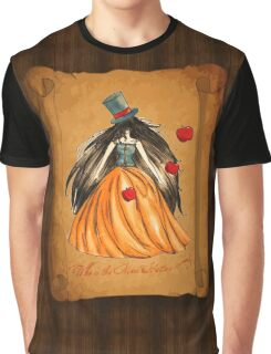 Who is the Mad Hatter ? Snow White  Graphic T-Shirt