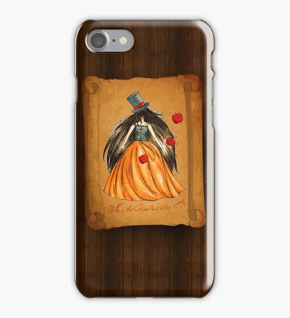 Who is the Mad Hatter ? Snow White  iPhone Case/Skin