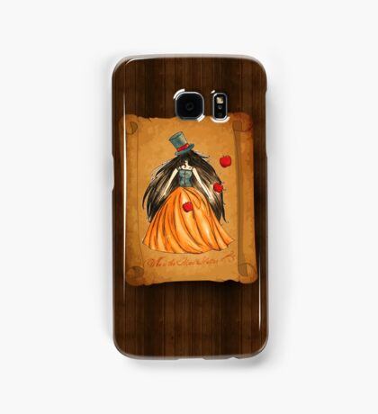 Who is the Mad Hatter ? Snow White  Samsung Galaxy Case/Skin