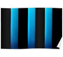 Black & Blue Poster