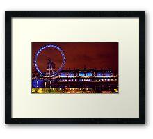 London In Colour Framed Print
