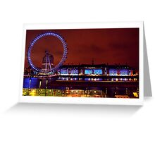 London In Colour Greeting Card