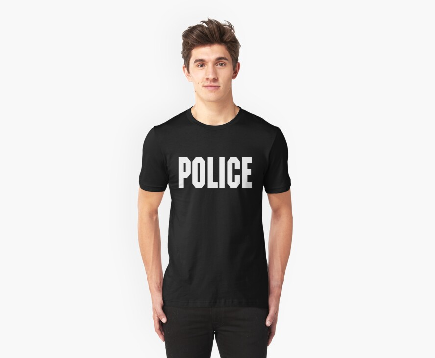 FOO FIGHTERS TAYLOR HAWKINS POLICE TEE by DanFooFighter