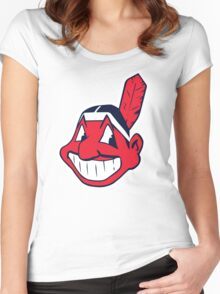 Cleveland Indians Women's Fitted Scoop T-Shirt