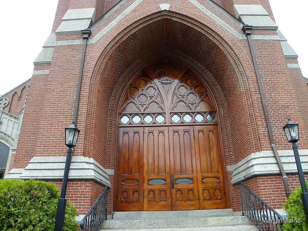 St. Joseph's Catholic Church, Biddeford, Maine by MaryinMaine