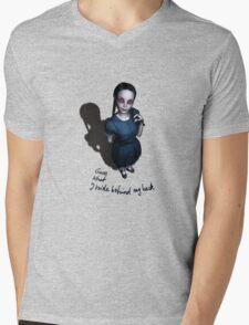 Little Miss Innocent Mens V-Neck T-Shirt