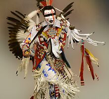 First Nations Chicken Dancer by Bob Christopher