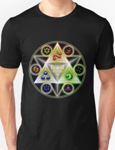 The Legend of Zelda: Ocarina of Time - Spiritual StoneTriforce! Unisex T-Shirt