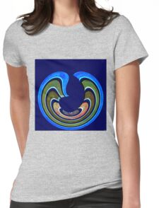 1408 Abstract Thought Womens Fitted T-Shirt