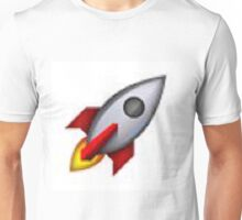 Rocket Emoji Unisex T-Shirt