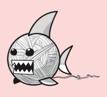 Yarn shark (grey) Kids Clothes
