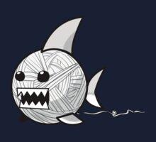 Yarn shark (grey) One Piece - Long Sleeve
