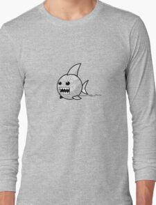 Yarn shark (grey) Long Sleeve T-Shirt