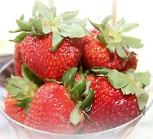 Strawberries by DebbieCHayes