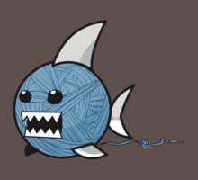 Yarn shark (blue) by sharkandfriends