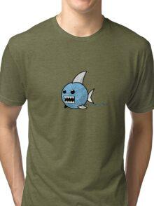 Yarn shark (blue) Tri-blend T-Shirt