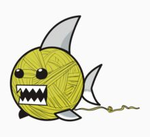 Yarn shark (yellow) Kids Clothes
