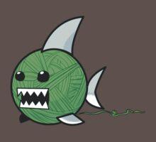 Yarn shark (green) One Piece - Short Sleeve