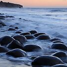 Bowling Ball Beach California by Bob Christopher