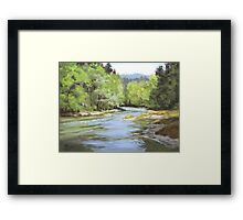 Little River Morning Framed Print