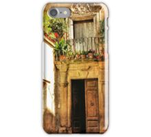 Romance in the Afternoon-Italy iPhone Case/Skin