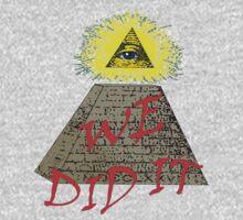 we did it (illuminati) Kids Clothes