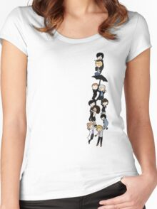 221B BAKERSTREET Women's Fitted Scoop T-Shirt