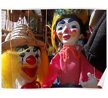 Ha Ha Said The Clown - Ja Ja Dijo El Payaso Poster