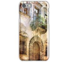 Step into the Past-Italy iPhone Case/Skin