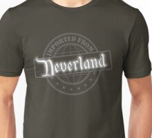 Imported from Neverland - Silver Unisex T-Shirt