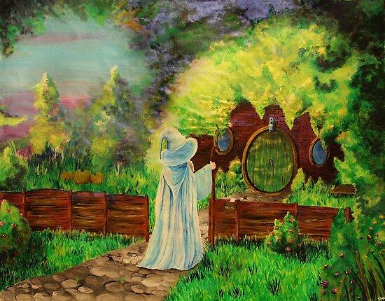 Hobbit home by studinano