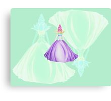 Waterlily, the princess Canvas Print