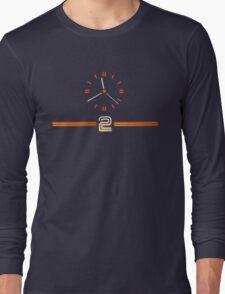 Retro BBC clock BBC2  Long Sleeve T-Shirt