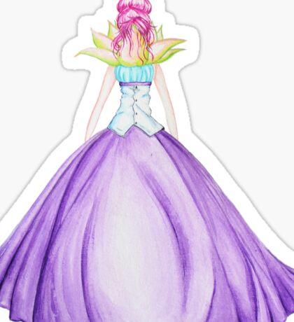 Waterlily, the princess Sticker