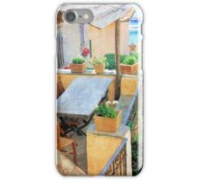 A Balcony with a View-Italy iPhone Case/Skin