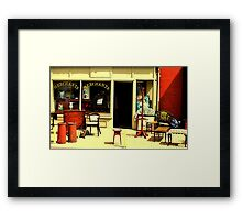 The Old Curiosity Shop Framed Print