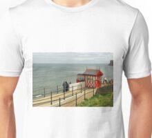 Saltburn Cliff Tramway, Top Station Unisex T-Shirt