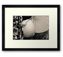 Round Framed Print