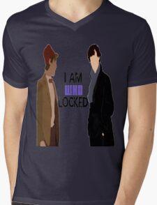 I AM WHOLOCKED Mens V-Neck T-Shirt