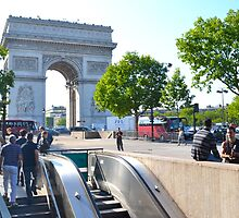 Arc de Triomphe de l'Étoile by Imagery