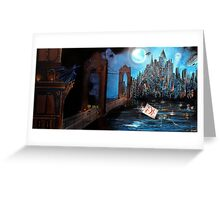 Watching over Gotham Greeting Card