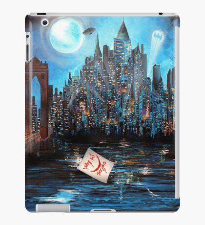 Watching over Gotham iPad Case/Skin