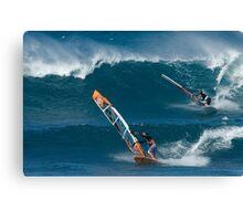 Windsurfing Maui Canvas Print