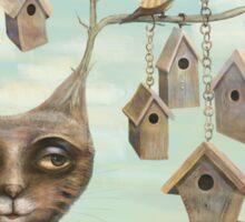Bird Houses Sticker