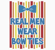 Real Men Wear Bow Ties - Bert by magicalribbons