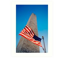 The Washington Monument, Washington DC Art Print