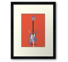 Her Weapon Framed Print