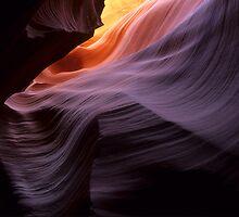 Antelope Canyon Splendor Of The Rock by Bob Christopher