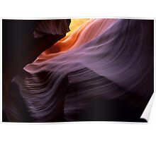 Antelope Canyon Splendor Of The Rock Poster