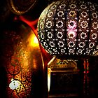 Marrakech Souk - lamps by Jackie Barefield
